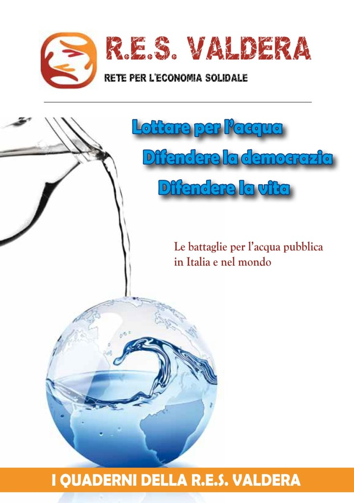 Copertina Quaderno ACQUA