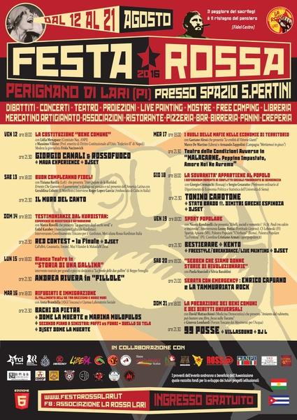 Festa Rossa 2016_il Programma.resized