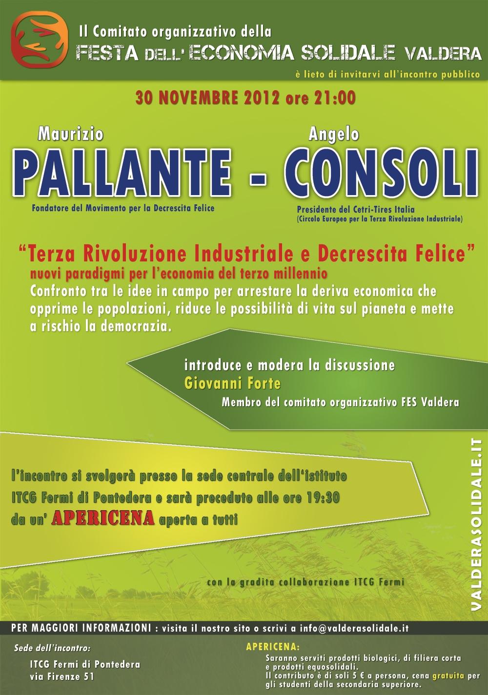 Incontro Pallante-Consoli 30-11-12 FESV