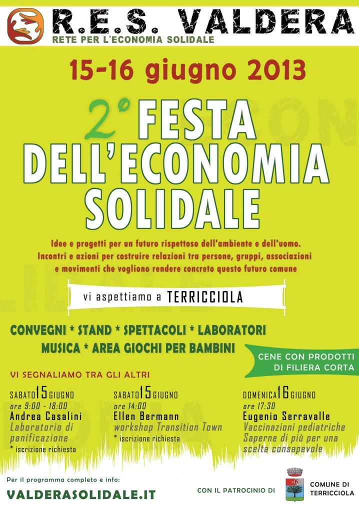 Locandina 2a FESV Terricciola 15-16 giugno 2013